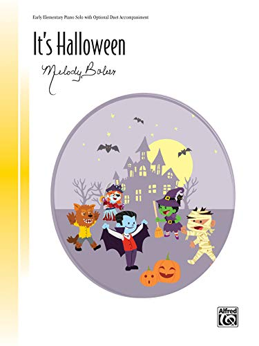 It's Halloween: Sheet (Alfred Signature) (Halloween Musik Klavier Noten)