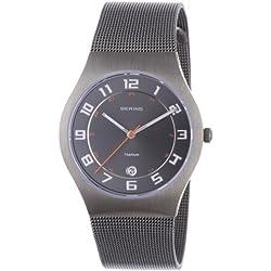 Bering Time Men's Slim Watch 11937-007 Classic