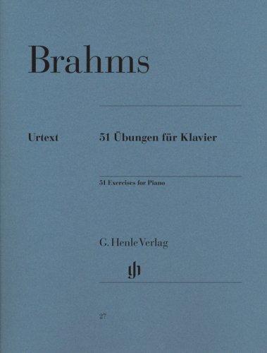 51 Übungen für Klavier