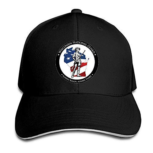 Wisconsin National Guard Members Supporting Sandwich Hat Baseball Cap Dad Hat National Guard Hat