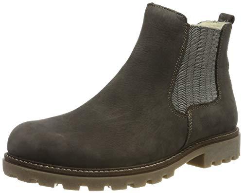 Remonte Damen D7457 Chelsea Boots, Grau (Smoke 45), 39 EU