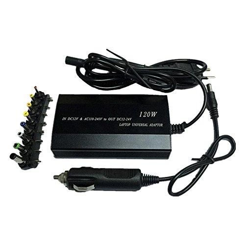 Eastlion 120W 8 DC Stecker Universal Auto und Haus 2 In 1 Laptop Notebook AC Ladegerät Adapter Laptop Ladegerät für Lenovo / Dell / Samsung / Sony / Acer etc. -