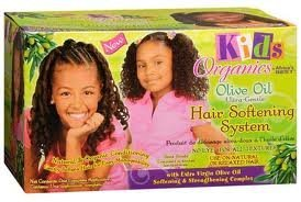 Africas Best Kids Organics Olive Oil Hair Softening System by Africa's Best