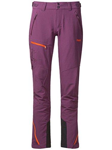 Bergans Osatind Damen Hose, Farbe Plum/Koi Orange, Größe M