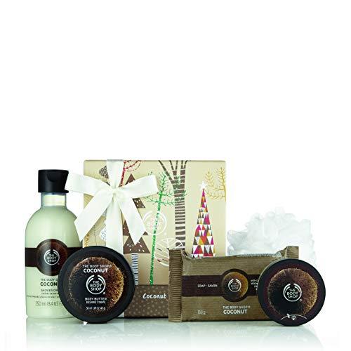The Body Shop Festliches Kokosnuss-Geschenkset
