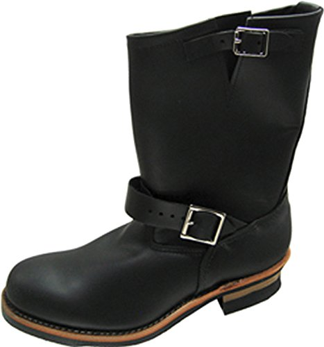 Red Wing Shoes 2268-D Black Chrome Engineer Steel Toe (47, Black Chrome) Steel Toe Biker-boots