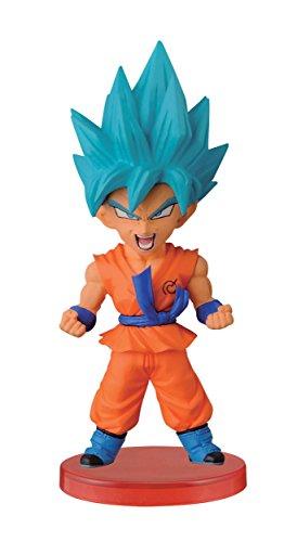 Banpresto Dragon Ball Z Super Saiyan dios 2,8 pulgadas Super Saiyan Goku figura de mundo de coleccionista, Z guerreros
