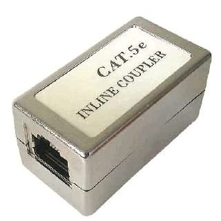 ABIX Neutral Connector F/F RJ45 Cat5e blindé intégr.