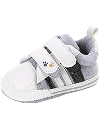 Bebé Zapatos SMARTLADY Lona Zapatillas Antideslizante Suave Suelas de Patrones para Recién Nacidos Niño Niña