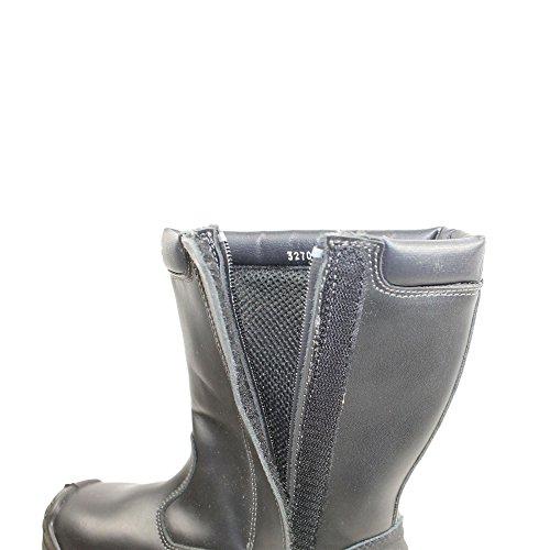 Lupos titane berufsschuhe businessschuhe s3 sRC chaussures de chaussures de sécurité chaussures de travail noir Noir - Noir