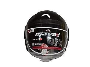 Mavox HULL O/F Helmet TEXTURED BK (580)