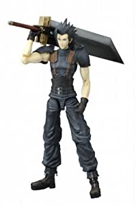"CRISIS CORE FINAL FANTASYVII Play Arts Zack Fair ""figure movable scale"" - Taille :220mm"
