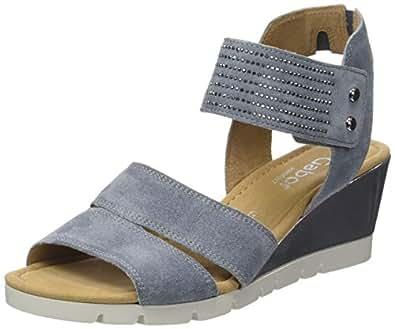 Gabor Shoes Damen Comfort Plateau, Blau (Denim (Specc) 36), 42 EU