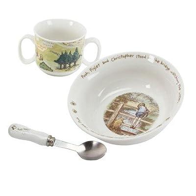 Disney - Classic Pooh Heritage - Bowl and Mug Gift Set by WiddopandBingham