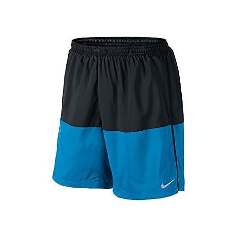 Nike Herren Oberbekleidung 7 Zoll Distance Shorts, blau, S, 642807-023