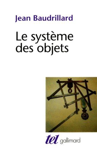 Le système des objets