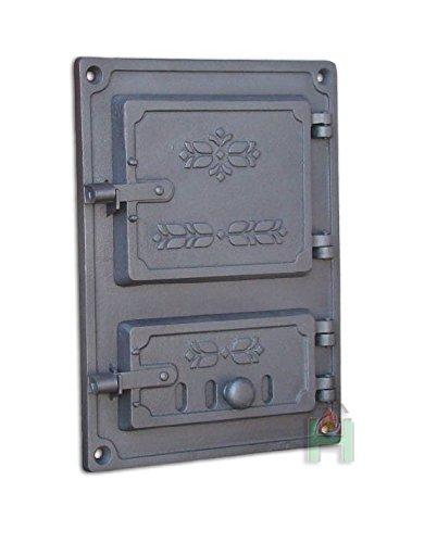 Limpiador para puerta pladur Chimenea Madera del Horno Puerta estufas Horno Puerta...