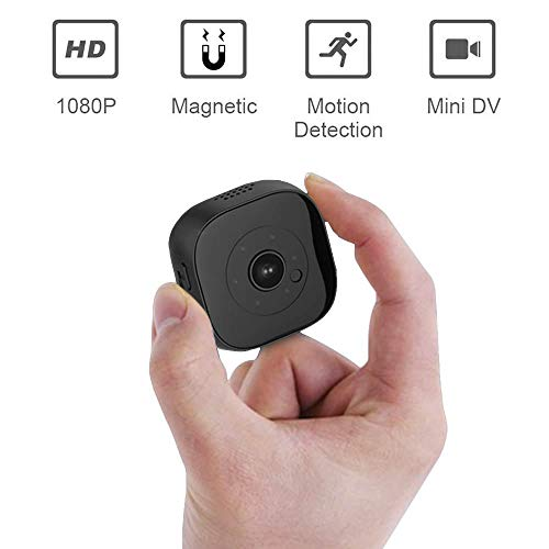 KOBWA Mini Kamera, Full HD 1080P Mini Überwachungskamera Mini Kamera Spion Spycam WiFi mit Bewegungserkennung Nachtsicht Video Aufnahme für iPhone/Android Phone/iPad