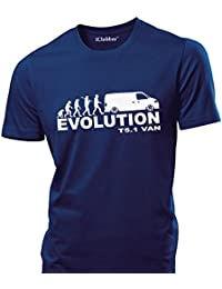iClobber VW T5.1 Panel Van Evolution mens T Shirt