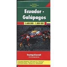 Equateur Galapagos : 1/600 000 - 1/800 000