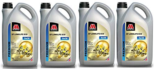 Price comparison product image Millers Oils XF Longlife ECO 5w30 A5 / B5 Fully Synthetic Engine Oil,  20 Litres