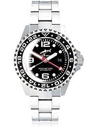 Chris Benz Deep 2000m Automatic GMT Super Bubble CB-2000A-D3-MB Automatic Mens Watch Diving Watch