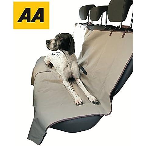 Cubierta de asiento de perro para mascotas y Kids–Protege asientos traseros de la suciedad, el cabello y salpicaduras–AA Car Pet, cubierta de asiento para perros, gatos y otras Mascotas.