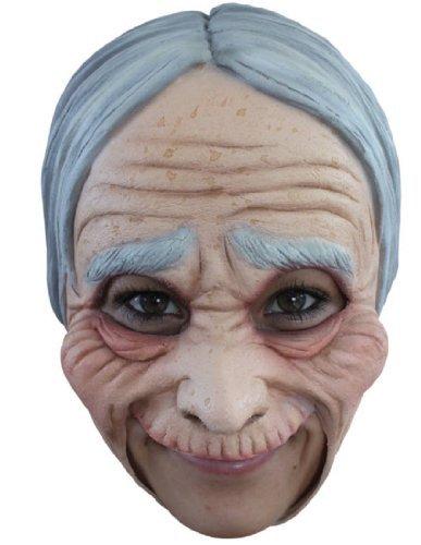 Generique - Alte Frau Maske für Erwachsene Halloween