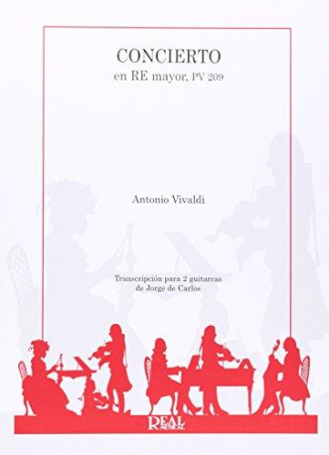 Antonio Vivaldi: Concierto en Re Mayor PV 209 para 2 Guitarras