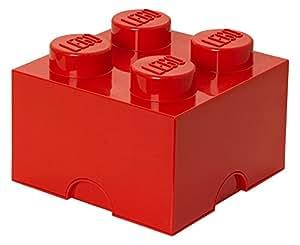 Lego Storage Brick 4 Red
