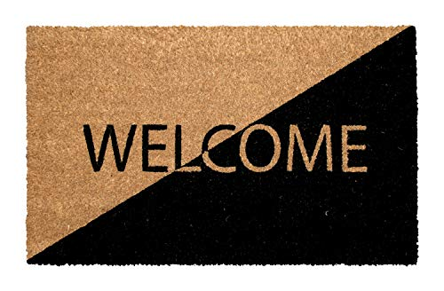 Onlymat Only Mat Welcome Coir Door Mat