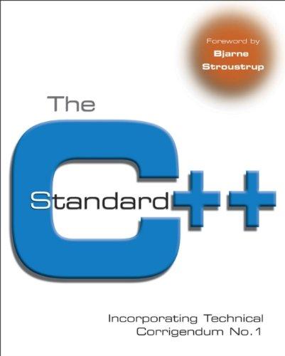 C++ Standard: Incorporating Technical Corrigendum No. 1 (Computer Science)