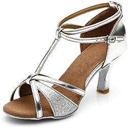 VESI - Donna Scarpe da Ballo Latino/Sala da Ballo/Standard Tacco 5cm/7cm