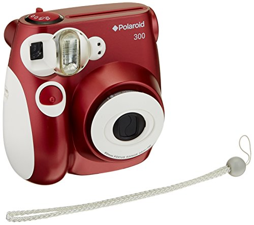 Polaroid PIC-300 Sofortbildkamera (ROT) (Pic Kamera)