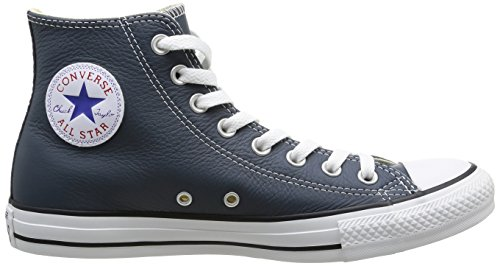 Converse Chuck Taylor All Star Adulte Seasonal Leather Hi, Unisex-Erwachsene Kurzschaft Stiefel Blau (MOONLIGHT)