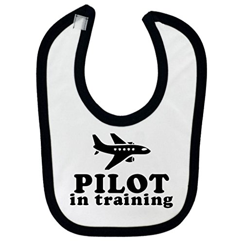 pilot-in-training-design-baby-bib-with-black-contrast-trim-black-print