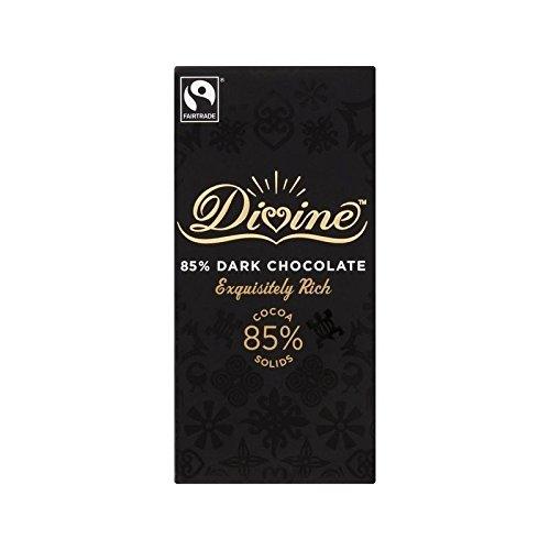 Divina 85% 100G Di Cioccolato Fondente - Confezione da 2 - Divina Bere Cioccolata