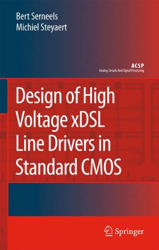 41Y4Szp4xoL - BEST BUY #1 Design of High Voltage xDSL Line Drivers in Standard CMOS (Analog Circuits and Signal Processing) Reviews and price compare uk