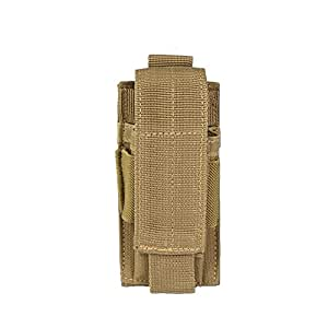 Porte Chargeur 9mm Miltec - Simple (Coyote)