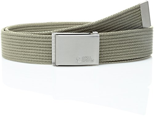 Fjällräven Herren Gürtel Canvas Belt, Light Khaki, One Size, 77029-236 (Star Canvas)