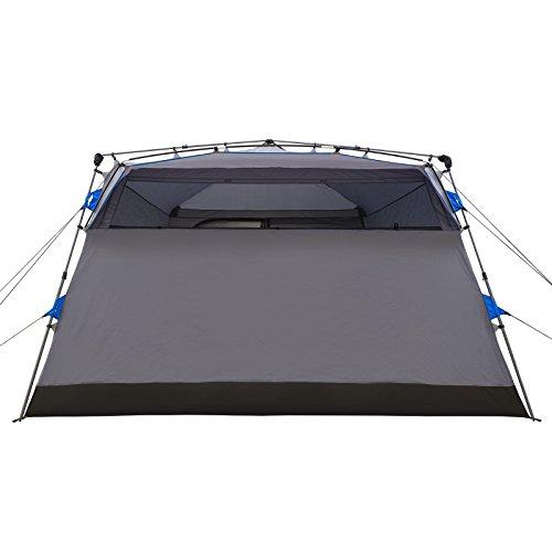 Qeedo Quick Villa 5, Sekundenzelt für 5 Personen, Familien-Zelt mit Stehhöhe - grau - 6