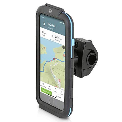 """Wicked Chili Tour Case für Apple iPhone 8 Plus / 7 Plus / 6 Plus wetterfeste Fahrradhalterung, für Fahrrad Handy Navigation, regenfeste Schutzhülle (Handyhalterung 5,5\"""" für Lenker und Vorbau) schwarz"""