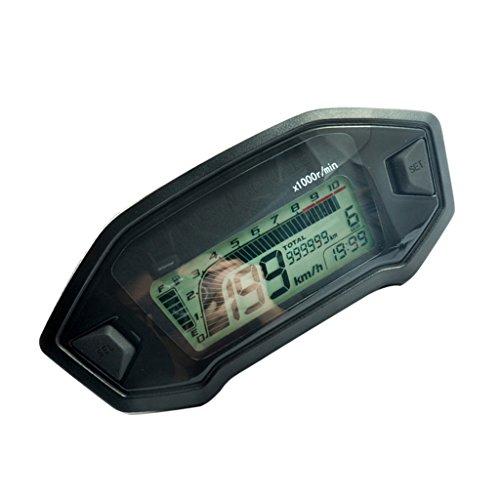 Sharplace Tacómetro Digital Del Velocímetro compatibles con el motor de inyección de...