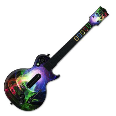 mygift-match-head-design-skin-decal-sticker-for-wii-guitar-hero-iii-gibson-les-paul-guitar-controlle