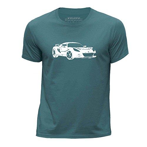 stuff4-boys-age-12-14-152-164cm-ocean-green-round-neck-t-shirt-stencil-car-art-exige-s