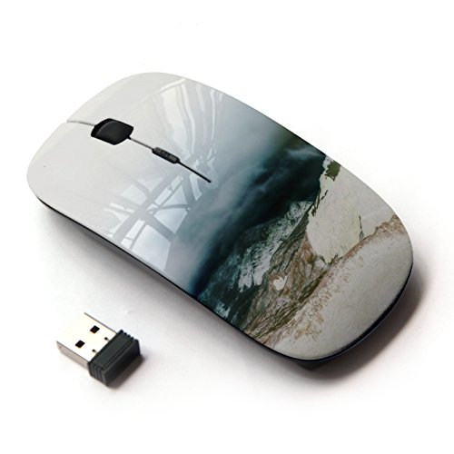 koolmouse-raton-optico-24g-inalambrico-mount-kinley-white-snow-nature-