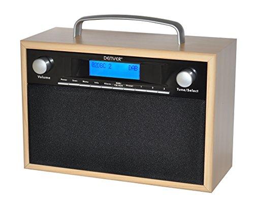 Denver Dab-28 Radio Digitale, Nero - Nero Radio Dab