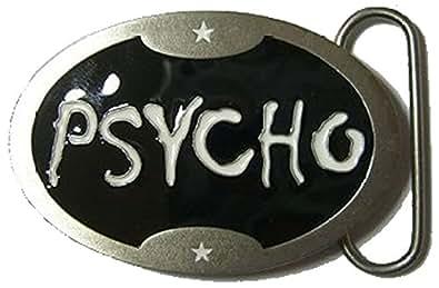 PSYCHO Fibbia per Cintura + espositore