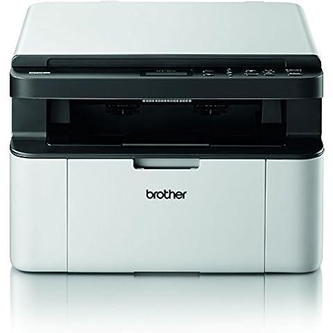Brother DCP-1510 - Impresora multifunción láser monocromo, color blanco y negro