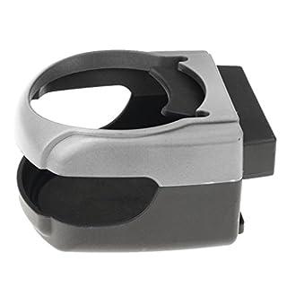 non-brand MagiDeal Getränkehalter Air Heizen/kühlen - Dosen Halterung, Becherhalter für Lüftung - Silber